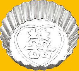小花蛋糕模(陽極) 105*81*31mm