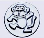 小蛋糕模-猴(陽極) 71*52*38mm