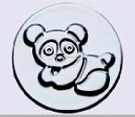 小蛋糕模-熊(陽極) 71*52*38mm