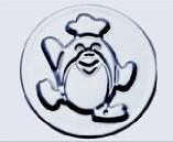 小蛋糕模-企鵝(陽極) 71*52*38mm