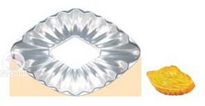 菱形菊花蛋糕模 89*60*19mm