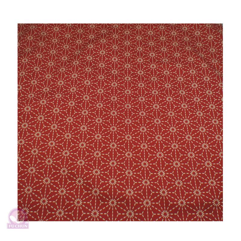 A364-5 暗紅煙火四角頭巾